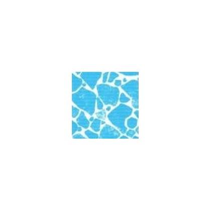 Fólie pro vyvařování bazénů - DLW NGD - bluestone, 1,65m šíře, 1,5mm, metráž
