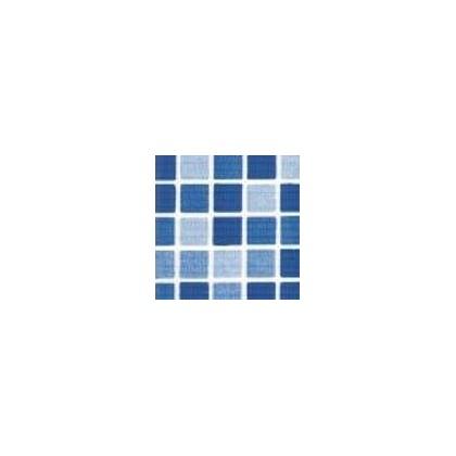 Fólie pro vyvařování bazénů - DLW NGD - mozaika aqua, 2m šíře, 1,5 mm, metráž