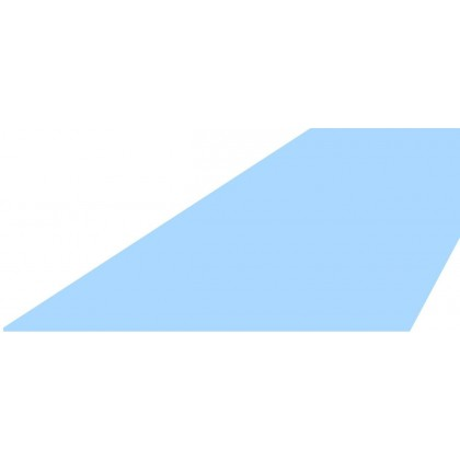 Upevňovací lišta - tabule plechu 1x2 m