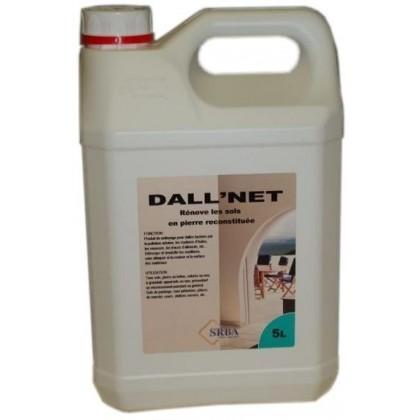 Přípravek Dall' net, 5 l - odstraňuje oleje, pěny a stopy potravin