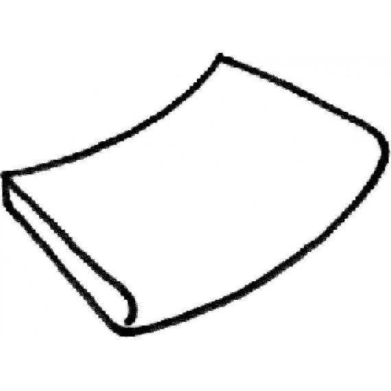 Dlažba Sahara - rádiusová dlaždice (vnější rozměr) R 2500