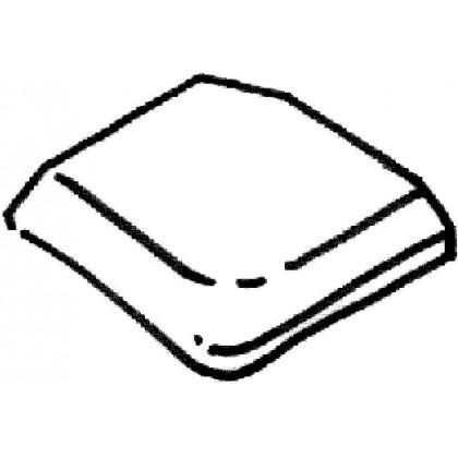 Dlažba Trianon – pravý a levý vybíhající díl, 1 kus