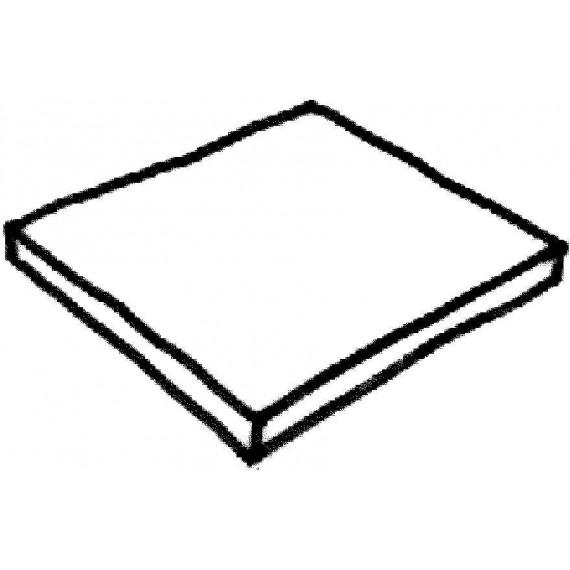 Dlažba Louisiane – dlažba 500 x 500 x 35 mm, přírodní dřevo