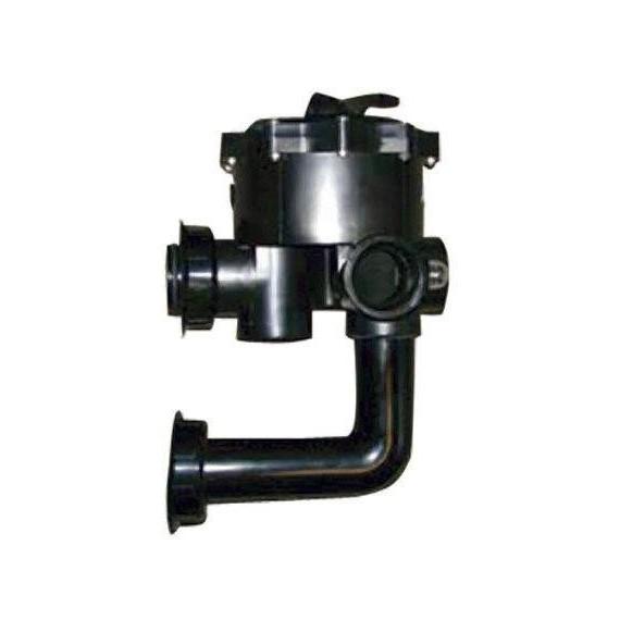 DE křemelinový filtr - Boční 6-ti cestný ventil pro filtr QUAD