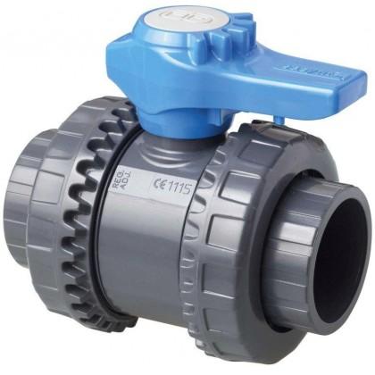 Kulový dvoucestný ventil 40 mm -- Easyfit