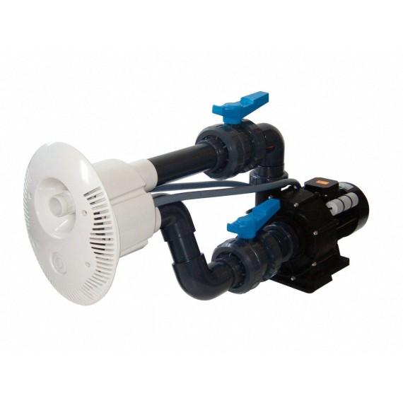 Protiproud V-JET 66 m3/h, 230 V, 2,2 kW, pro fóliové a předvyrobené baz., potrubí průměr  75 mm