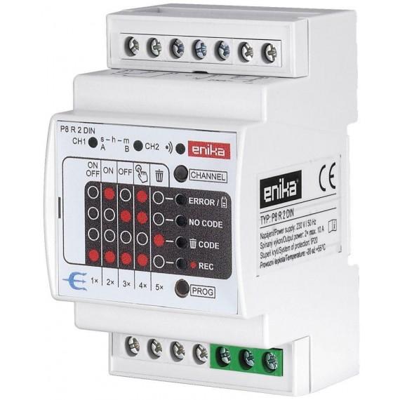 Dálkové spínání dvou-kanálové (tj dvou zařízení) 2x klíčenka