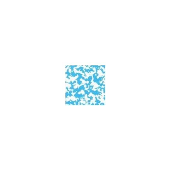 Fólie pro vyvařování bazénů - DLW NGD - modrá mramor, 2m šíře, 1,5 mm, 25 m role