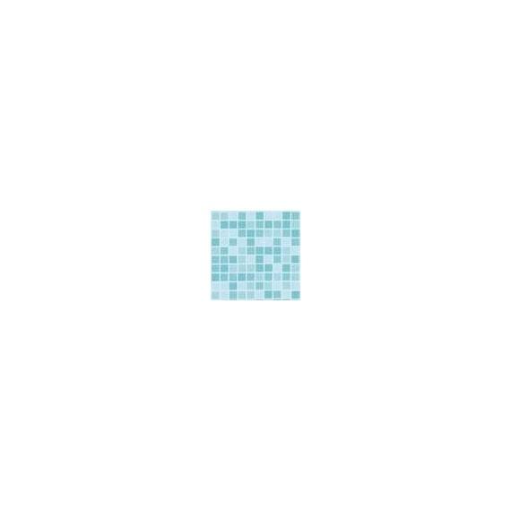 Fólie pro vyvařování bazénů - DLW NGD - mozaika ocean, 1,65m šíře, 1,5mm, 25m role