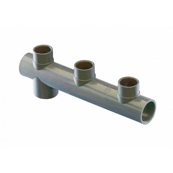 Trojcestné potrubí - krajové