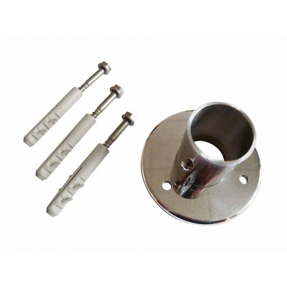 Příslušenství-nerez trubka pro zábradlí d 35 mm, délka 0,5 m,AISI 304