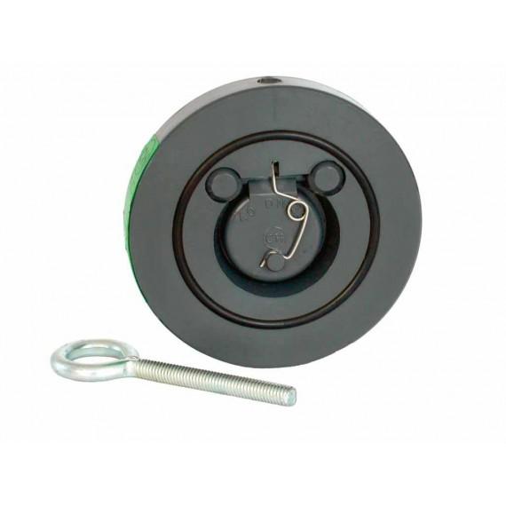 Zpětná klapka s pružinou 63 mm