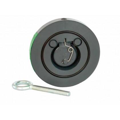 Zpětná klapka s pružinou 75 mm