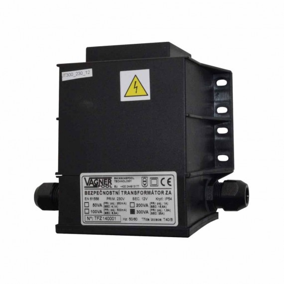 Bezpečnostní transformátor 80 W pro LED, zalitý 230 V/12 V