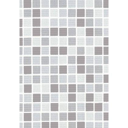 Fólie pro vyvařování bazénů - DLW NGD GRAU - mozaika, 1,65m šíře, 1,5mm