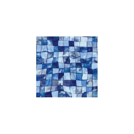 Fólie pro vyvařování bazénů - AVfol Decor - Mozaika Aqua Disco; 1,65m šíře, 1,5mm, metráž