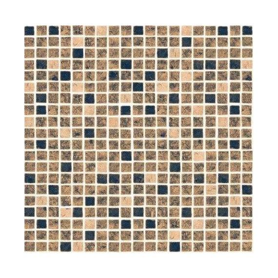 Fólie pro vyvařování bazénů - AVfol Decor - Mozaika Písková; 1,65m šíře, 1,5mm, metráž