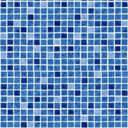 Fólie pro vyvařování bazénů - AVfol Decor - Mozaika Modrá 1,65m šíře, 1,5mm, metráž