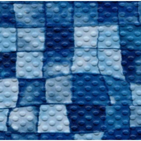 Fólie pro vyvařování bazénů - AVfol Decor Protiskluz - Mozaika Aqua Disco; 1,65m šíře, 1,5mm, metráž