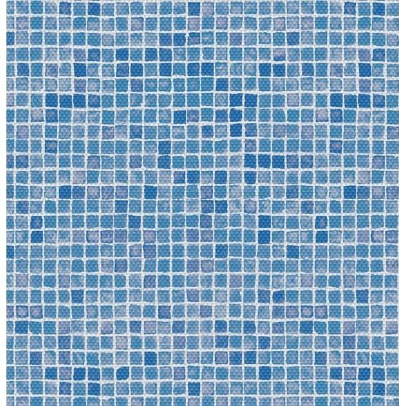 Fólie pro vyvařování bazénů - AVfol Decor Protiskluz - Mozaika Azur; 1,65m šíře, 1,5mm, metráž