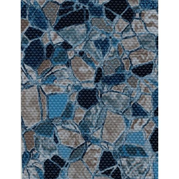 Fólie pro vyvařování bazénů - AVfol Decor Protiskluz - Volcano Stones; 1,65m šíře, 1,5mm, metráž