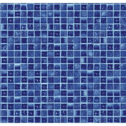 Fólie pro vyvařování bazénů - AVfol Decor Protiskluz - Mozaika Aqua 1,65m šíře, 1,5mm, metráž