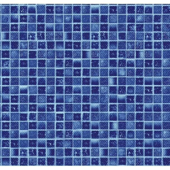 Fólie pro vyvařování bazénů - AVfol Decor Protiskluz - Mozaika Aqua; 1,65m šíře, 1,5mm, metráž