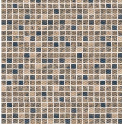 Fólie pro vyvařování bazénů - AVfol Decor Protiskluz - Mozaika Písková 1,65m šíře, 1,5mm, metráž