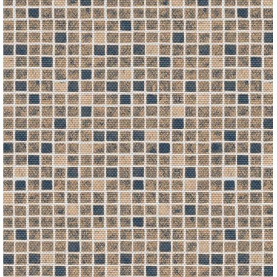 Fólie pro vyvařování bazénů - AVfol Decor Protiskluz - Mozaika Písková; 1,65m šíře, 1,5mm, metráž