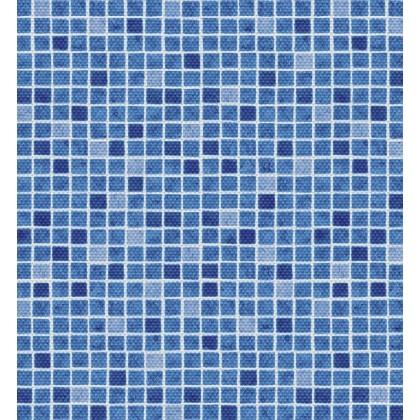 Fólie pro vyvařování bazénů - AVfol Decor Protiskluz - Mozaika Modrá 1,65m šíře, 1,5mm, metráž