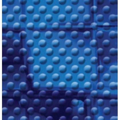 Fólie pro vyvařování bazénů - AVfol Decor Protiskluz - Mozaika Modrá Electric 1,65m šíře, 1,5mm, metráž