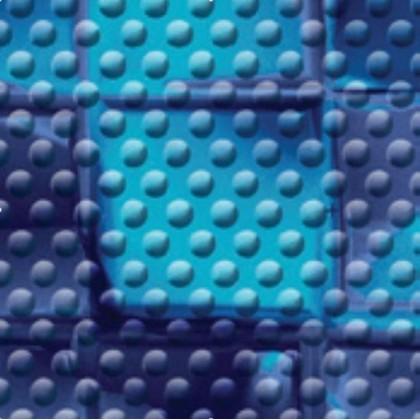 Fólie pro vyvařování bazénů - AVfol Decor Protiskluz - Mozaika Electric 1,65m šíře, 1,5mm, metráž