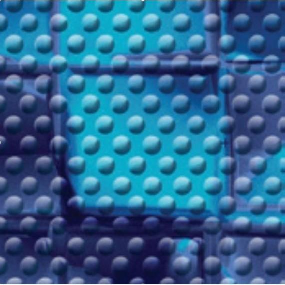 Fólie pro vyvařování bazénů - AVfol Decor Protiskluz - Mozaika Electric; 1,65m šíře, 1,5mm, metráž