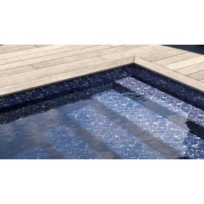 Fólie pro vyvařování bazénů - AVfol Decor - Blue Marmor 1,65m šíře, 1,5mm, 25m role