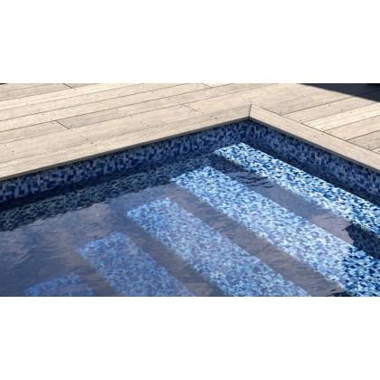 Fólie pro vyvařování bazénů - AVfol Decor - Mozaika Aqua Disco 1,65m šíře, 1,5mm, 25m role