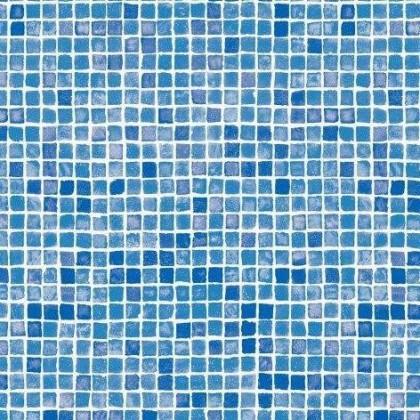 Fólie pro vyvařování bazénů - AVfol Decor - Mozaika Azur 1,65m šíře, 1,5mm, 25m role