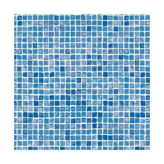Fólie pro vyvařování bazénů - AVfol Decor - Mozaika Azur; 1,65m šíře, 1,5mm, 25m role