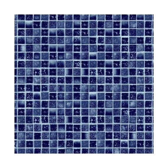 Fólie pro vyvařování bazénů - AVfol Decor - Mozaika Aqua; 1,65m šíře, 1,5mm, 25m role