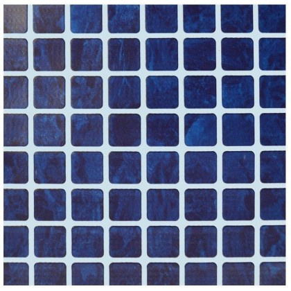 Fólie pro vyvařování bazénů - AVfol Relief - 3D Mozaika Dark Blue 1,65m šíře, 1,6mm, 20m role