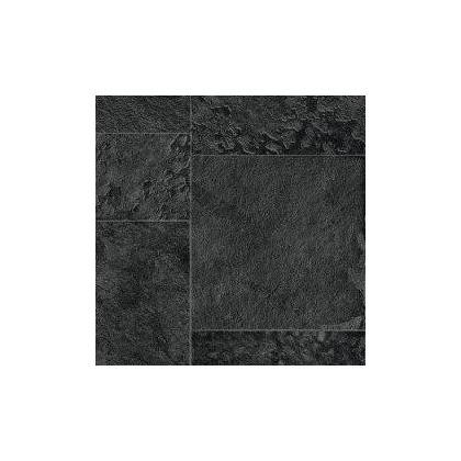 Fólie pro vyvařování bazénů - AVfol Relief - 3D Black Marmor Tiles 1,65m šíře, 1,6mm, 20m role