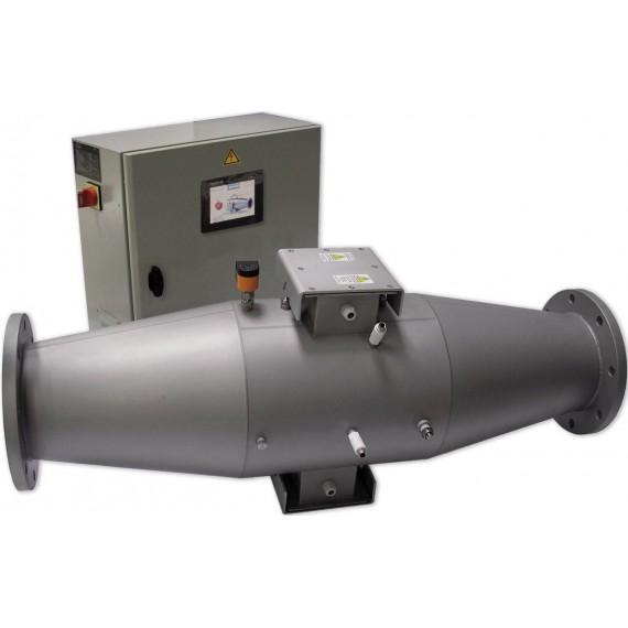MP 240A TS - UV Sterilizátor středotlaký 2x 3 kW, DN250