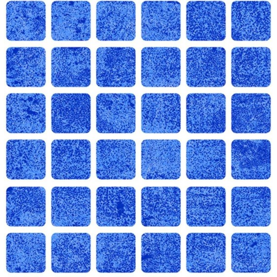 Fólie pro vyvařování bazénů - AVfol Relief - 3D Mozaika Light Blue, 1,65m šíře, 1,5mm, metráž