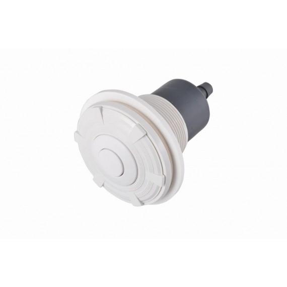 Pneumatické tlačítko, včetně průchodu betonem, pro fólii