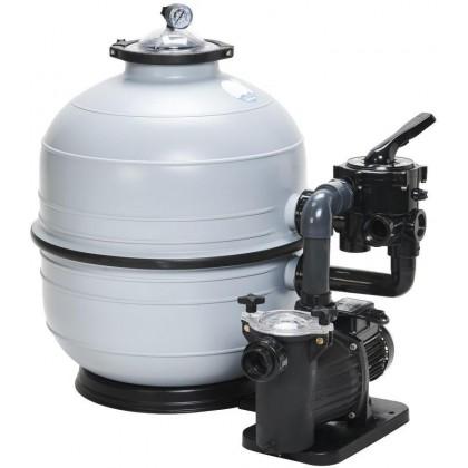 Filtrační zařízení - KIT MIDI 600, 14 m3/h, 230 V, 6-ti cest. boč. ventil, čerp. Bettar