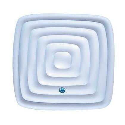 Nafukovací termokryt NetSpa Aspen, Caiman čtverec
