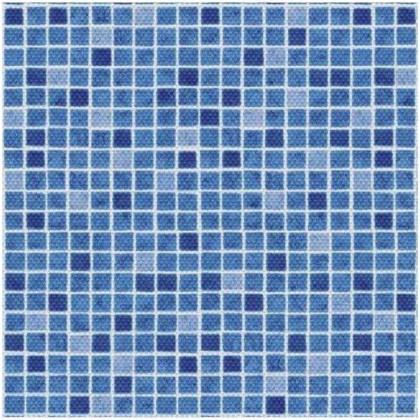 AVfol Decor Protiskluz - Mozaika Modrá, 1,65m šíře, 1,5mm, role 20m