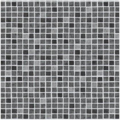 AVfol Decor Protiskluz - Mozaika Šedá, 1,65m šíře, 1,5mm, role 20m