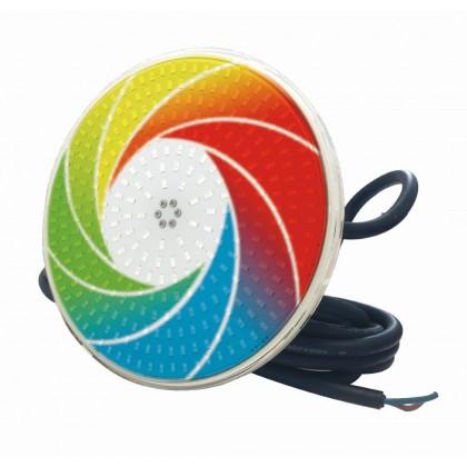 Žárovka LED Flat RGB plochá 23W